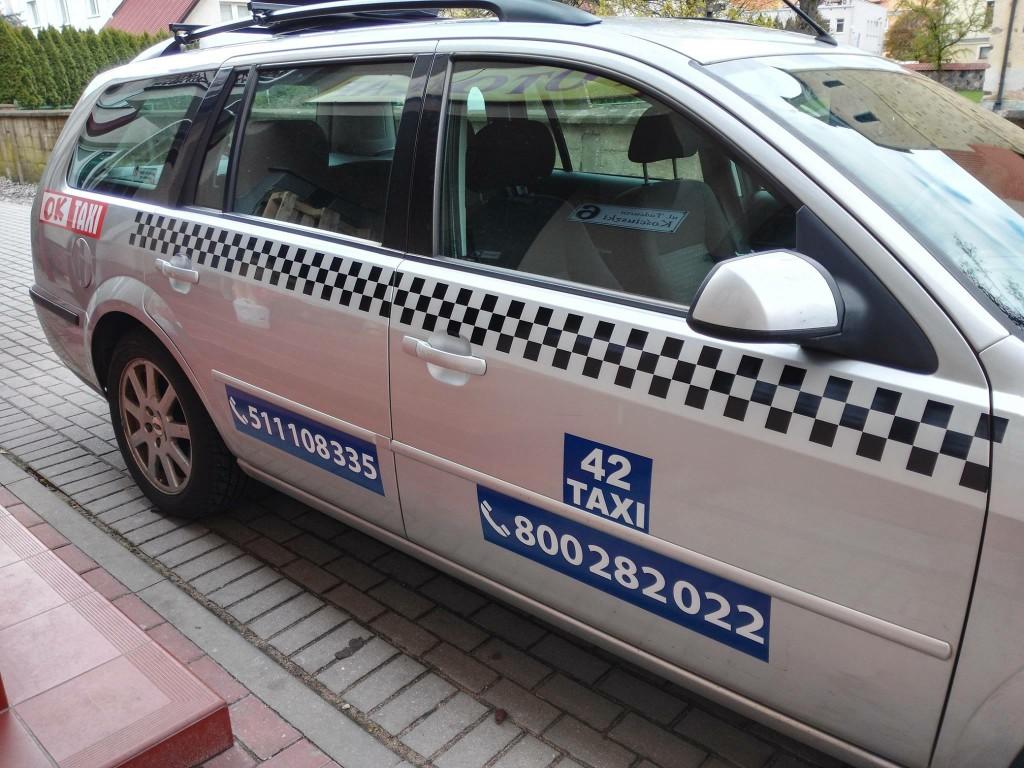 reklama ok taxi
