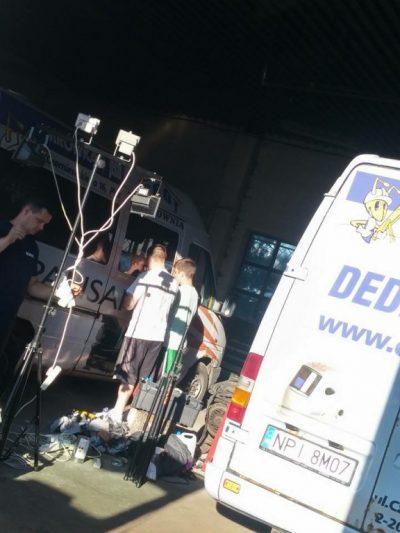 Oklejanie busów dla Grot Mrówka Pisz