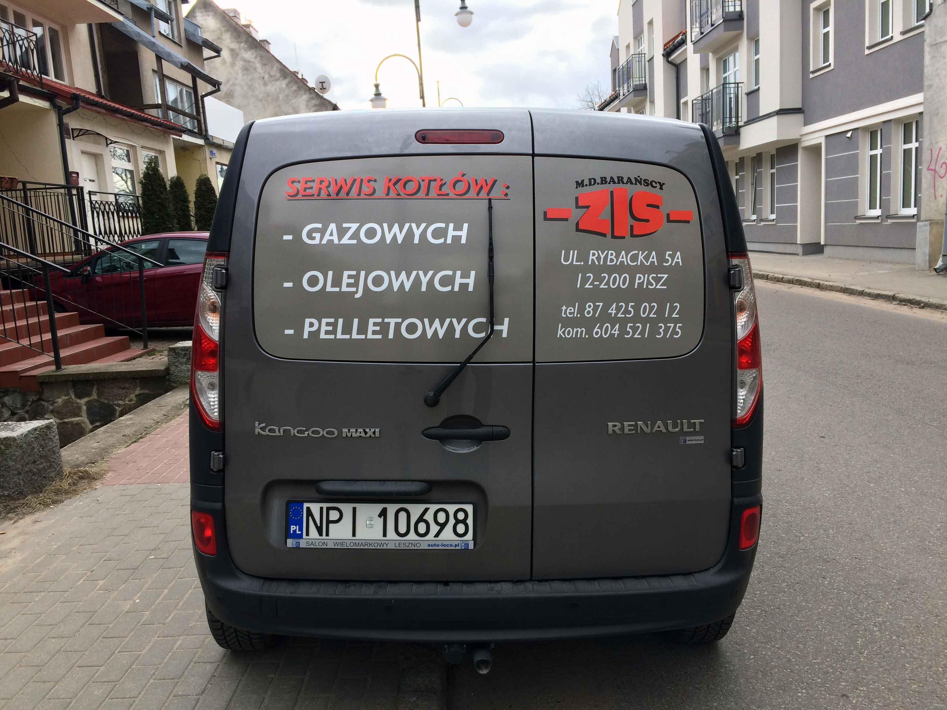 Oklejanie samochodów ZIS Barańscy