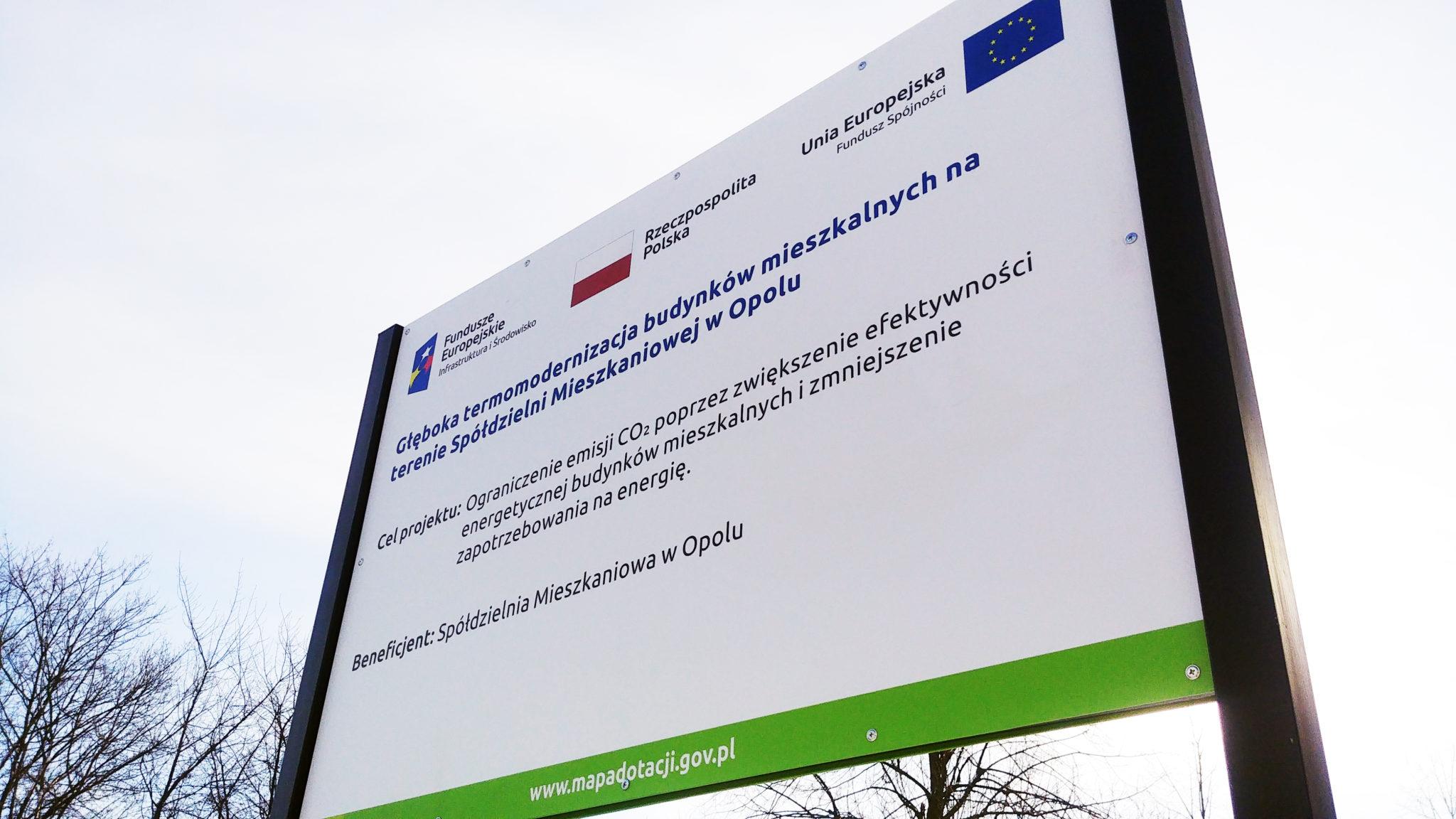 Tablica Unijna Opole
