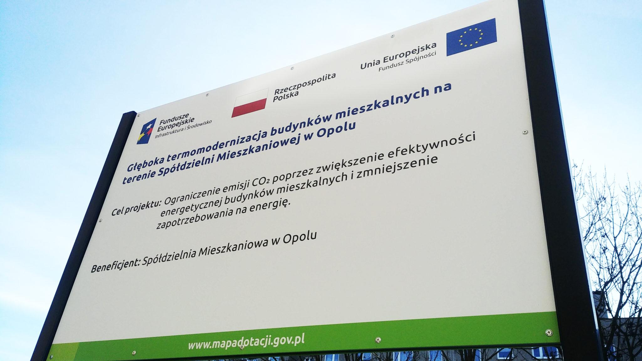 Tablice Unijne Opole