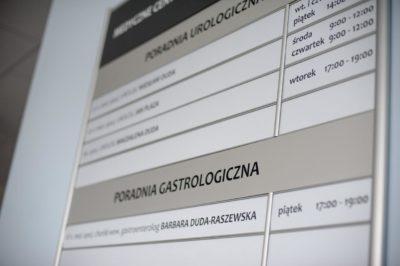tablica informacyjna aluminiowa